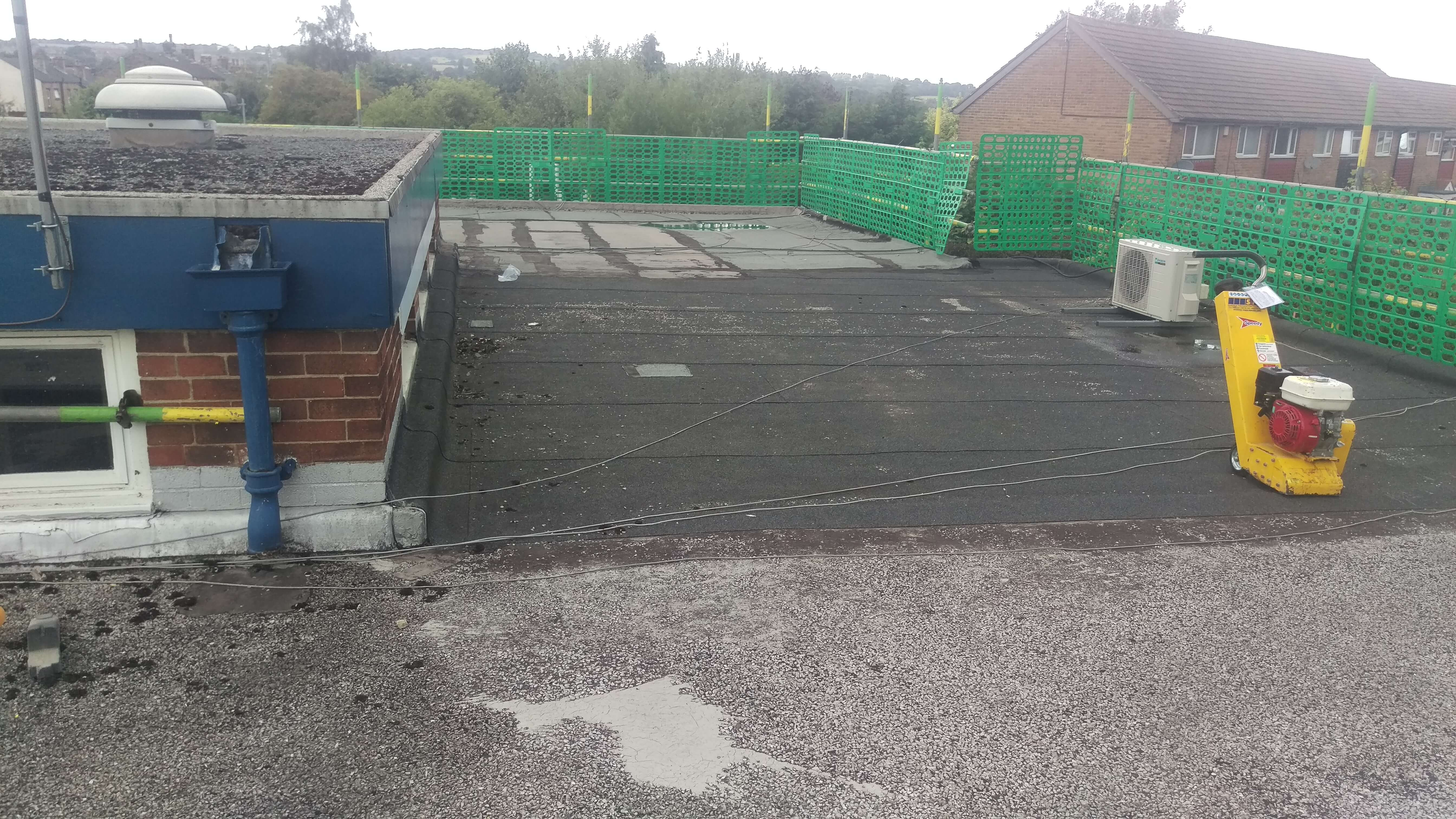 West Silc Refurbishment Sureseal Flat Roofing